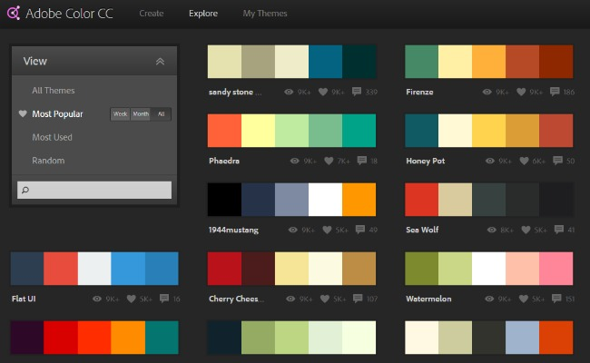 Pick colors that compliment each other when designing a brand for your blog.