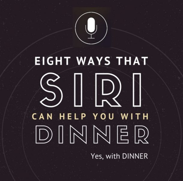 Learn how Siri can help you with dinner preparations. Super easy tips that you will use every day.