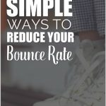 Simple Ways to Reduce Your Bounce Rate