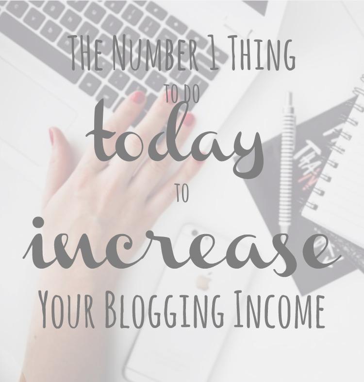 increase blogging income