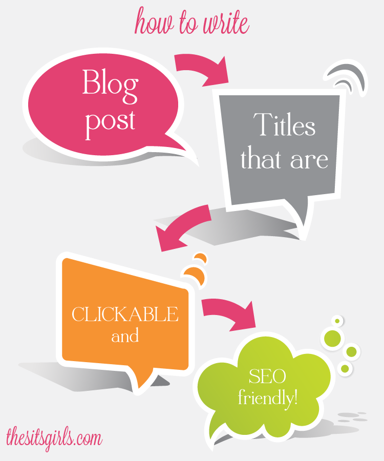 Learn how to write blog post titles that are great for search engines and your readers and drive more clicks to your blog | Blogging Tips | SEO