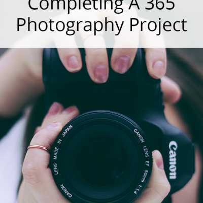 3 Tips For Completing A Project 365