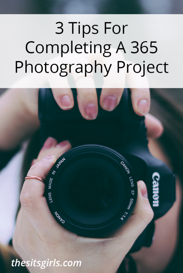 Document every day of your life for an entire year with this fun 365 photography challenge. Click through for 3 tips to help you make it through the year and complete your goal | Photography Tips.