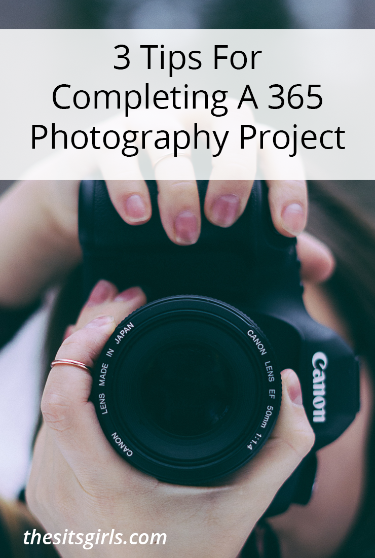 Document every day of your life for an entire year with this fun 365 photography challenge. Photography Tips | Photography Challenge | Photography Project