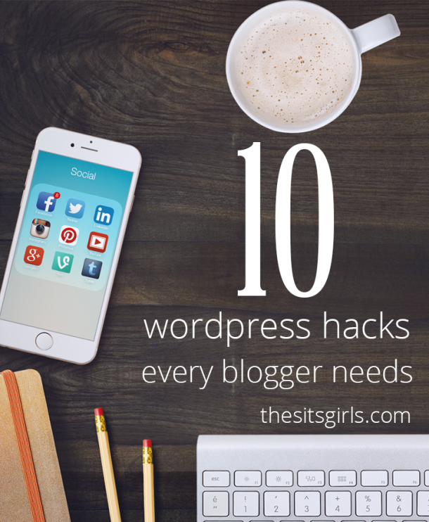 How To Blog | Blogging Tips | Blog Hacks| 10 simple WordPress hacks that will help you to save time blogging. Learn how to use some small settings and plugins you might have missed on your WordPress blog.