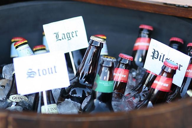Label your beers with a few printable signs.