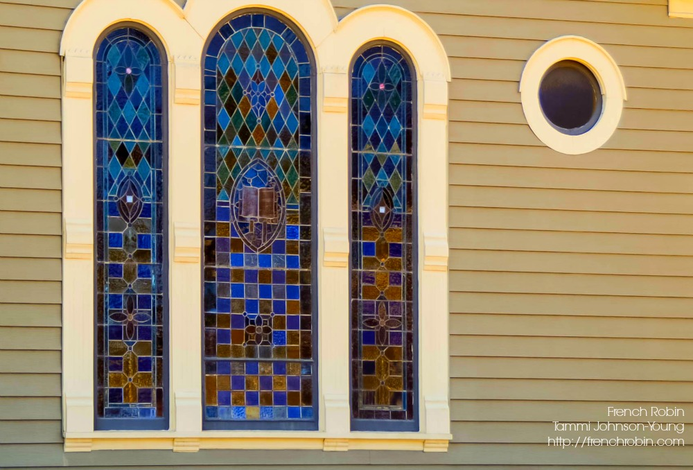 Stained Glass Windows - Outside View