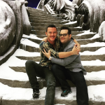 Josh Gad Shares Picture From The New Live-Action Beauty & The Beast Set!