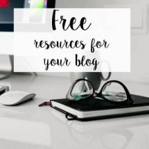 Free Resources for Your Blog