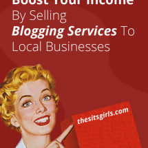 Make Money Blogging | A great way to boost your blogging income is to look offline. We have five services you can offer to local businesses to start brining in that paycheck.