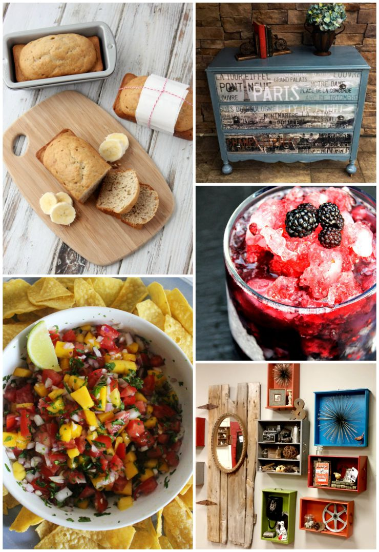Great recipes and DIY projects shared on The SITS Girls linky.