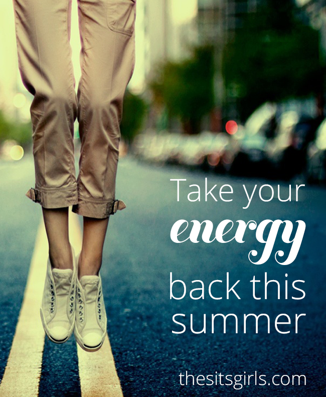 8 simple tips to help you regain your energy and have the best summer!  Small changes in your diet and routine can make a big difference.