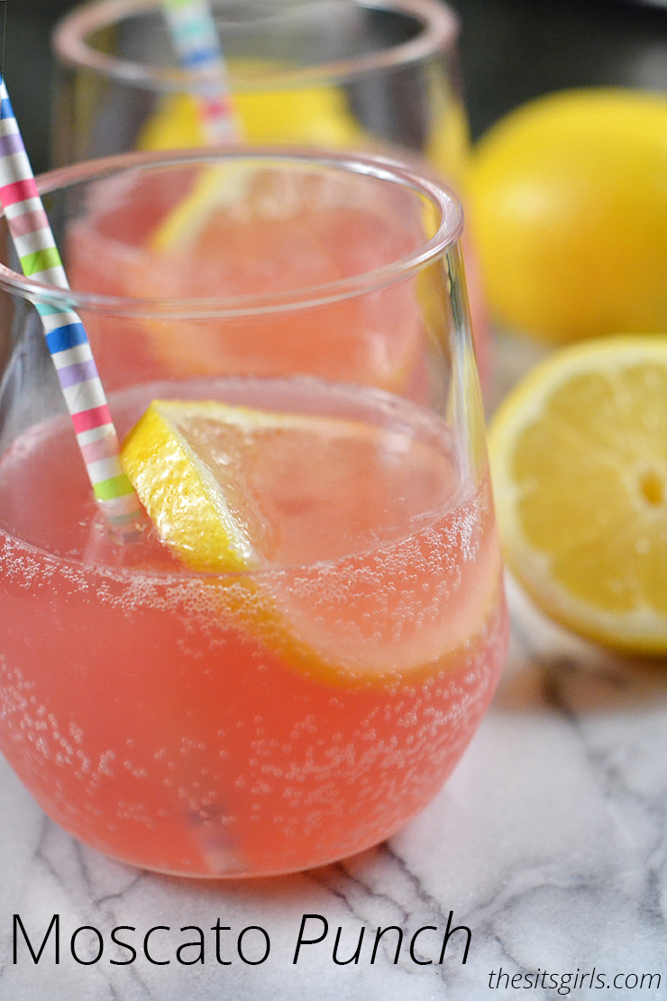 Moscato Pink Punch Recipe