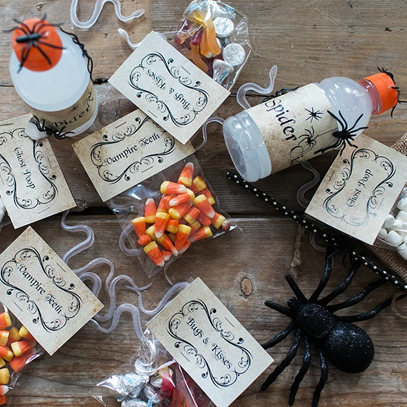 Halloween Treat Bag Printables
