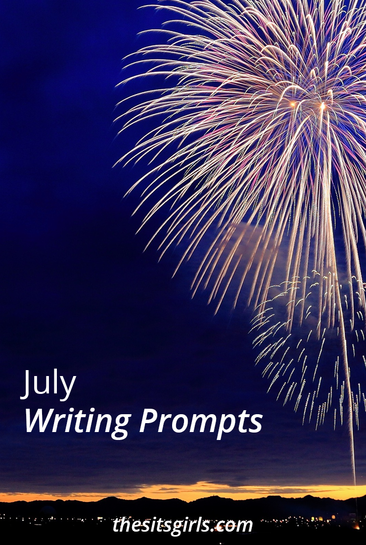 Do you need a little writing inspiration? We have writing prompts for each day of July to help you write and blog all month long.