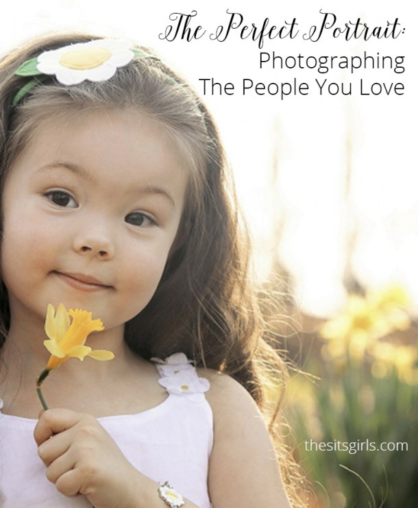 Portrait Photography Tips | Learn how to capture beautiful photographs of the people you love.