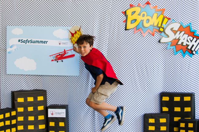Be a safety superhero this summer - stay safe with these simple tips from Shriners Hospitals For Children | SafeSummer