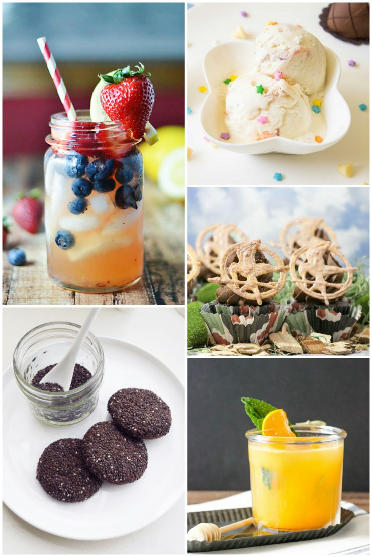 Summer recipes from some of our favorite bloggers - linked up at The SITS Girls