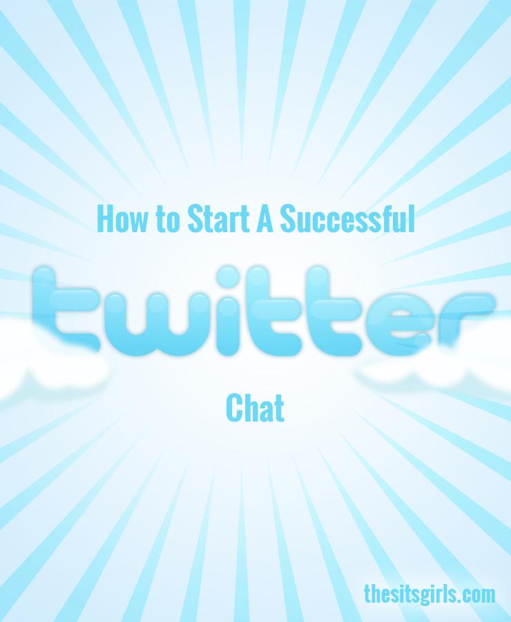 how to start a twitter chat calendar