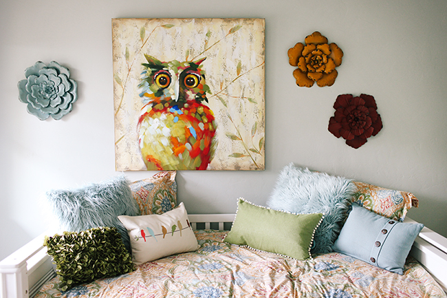 Mix patterns and textures too add a rich feel to your home decor.
