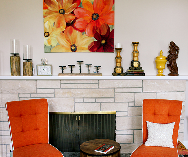 Don't be afraid to use bold colors in your home decor!