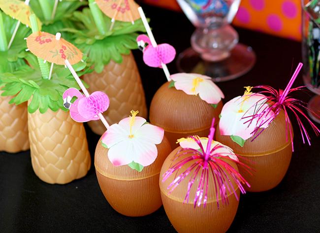 Cute tropical drink holders