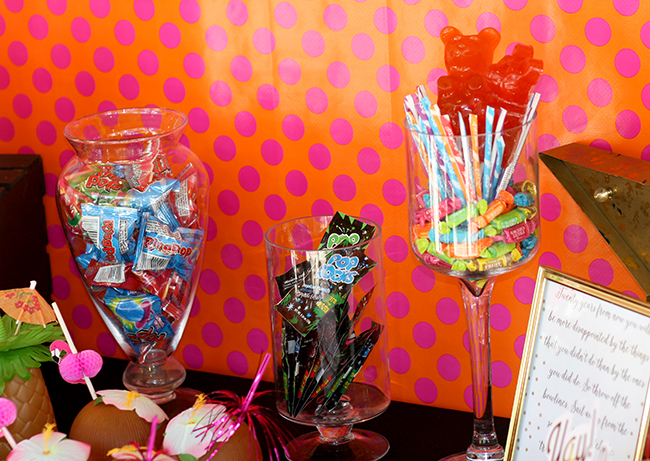 YOLO Party Candy Bar