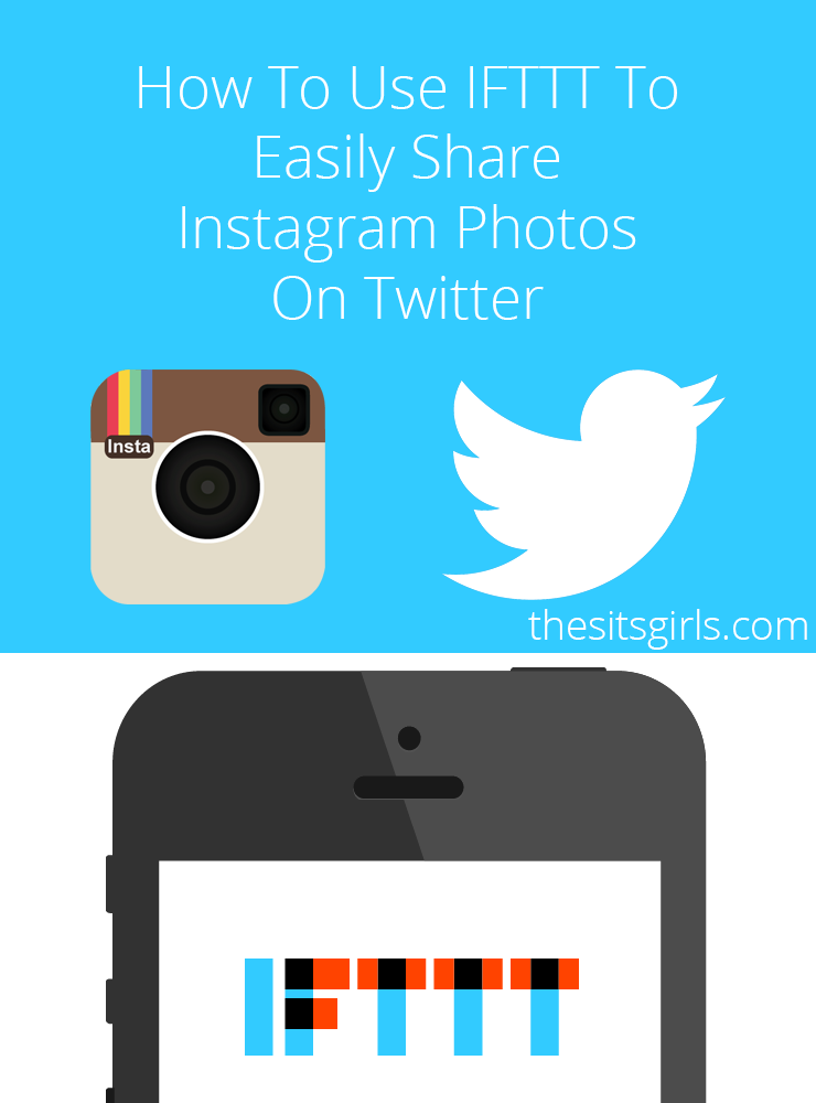 Learn how to automatically share your Instagram images to Twitter with the pictures showing in the Tweet. It is super simple, and only takes minutes to set up! Social Media Tip