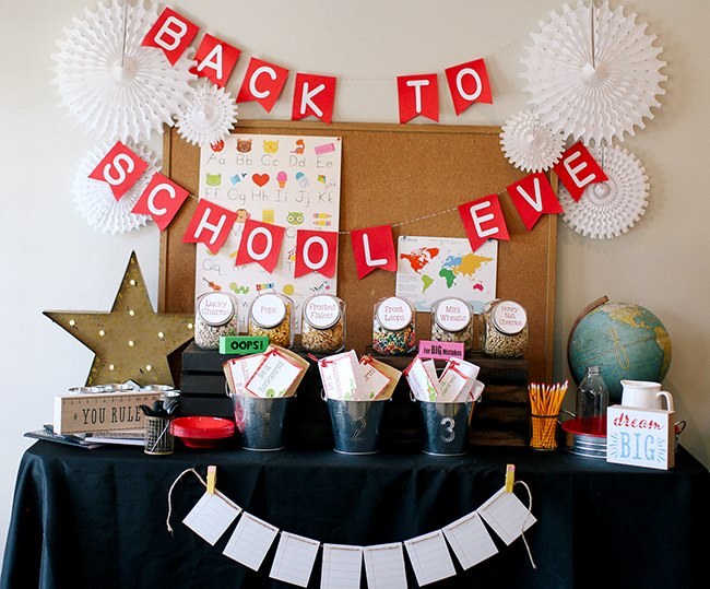 Plan the ultimate back to school party with these tips for end of summer fun! It is a great way to start off a new school year.