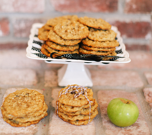 Texas Ranger Cookies make a great gift, or special treat to sneak into a lunchbox.