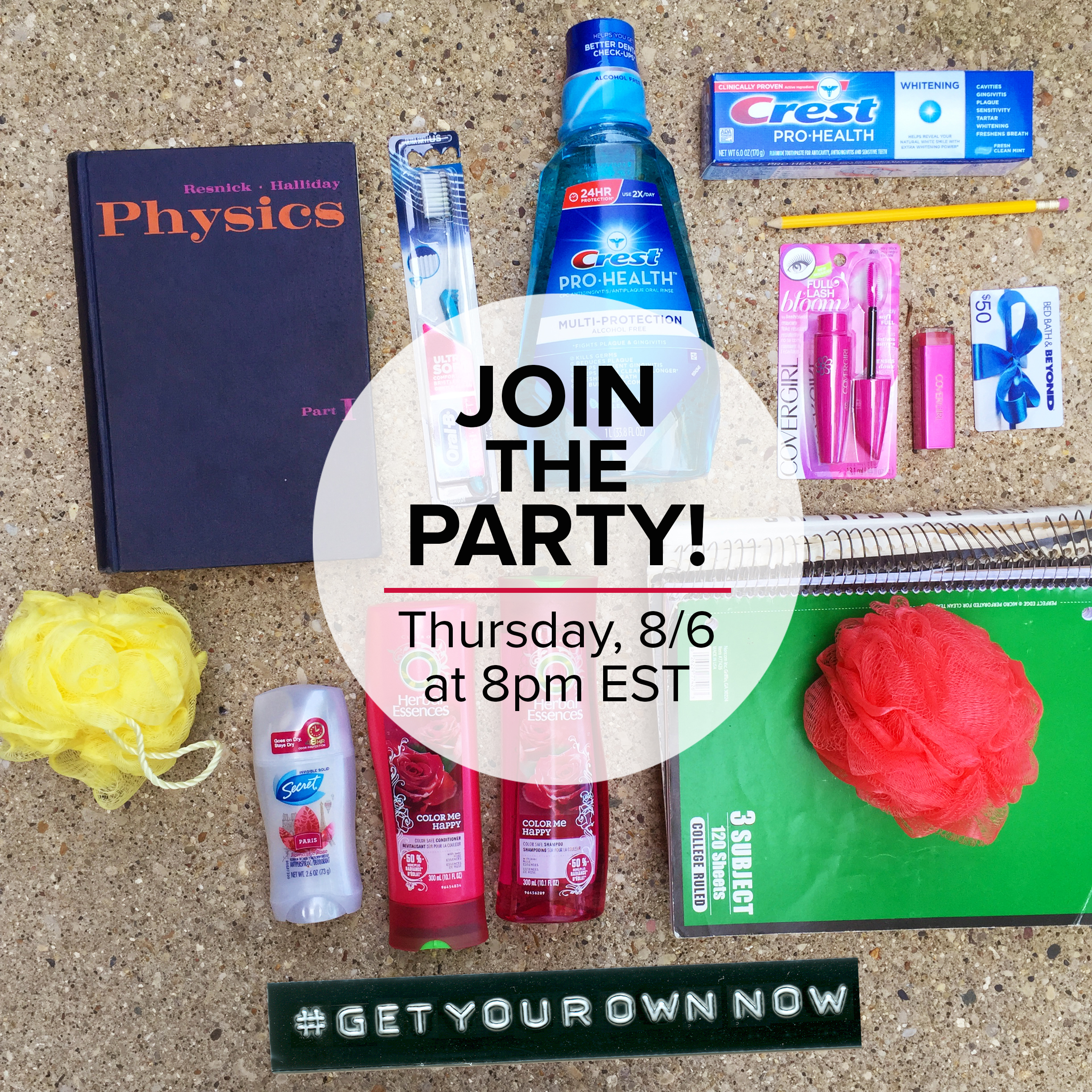Join us for the #GetYourOwnNow Twitter Party!