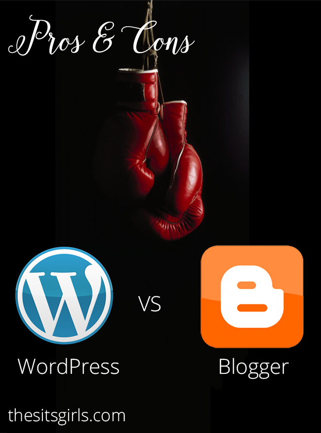 Blogging Tips | How To Set Up A Blog | Thinking of starting a blog or changing blogging platforms? We take a look at WordPress vs Blogger (the pros and cons of each) so you can see which one is a better fit for you and your blog.