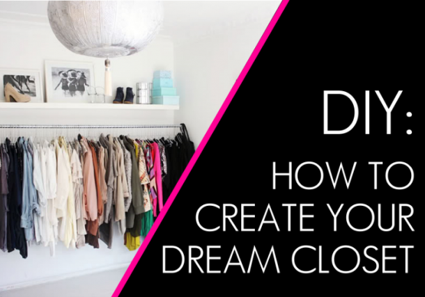 Create your dream closet today with these 20 easy tips! Home Decor | Closet Redo