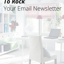 Are you ready to do something special with your email newsletters? Use these five tips to ROCK your email marketing and stand out from the crowd. | Blogging Tips