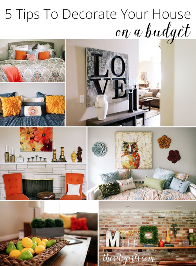5 tips to decorate your house on a budget - How To Decorate Your House