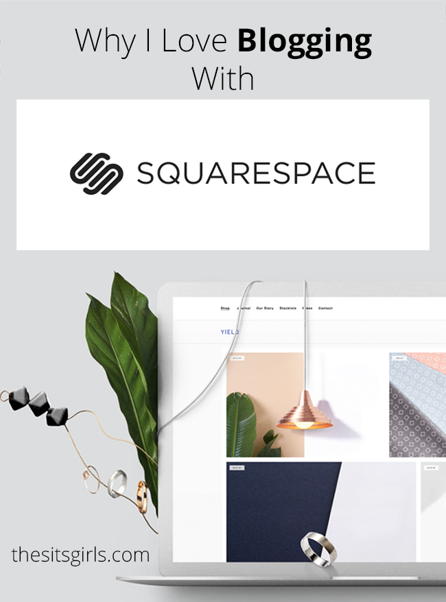 Blogging Tips | How To Blog | Most people talk about WordPress or Blogger when they are going to start a blog. I like a third option much better - Squarespace. Read why and see if it might be the right blogging platform for you, too!