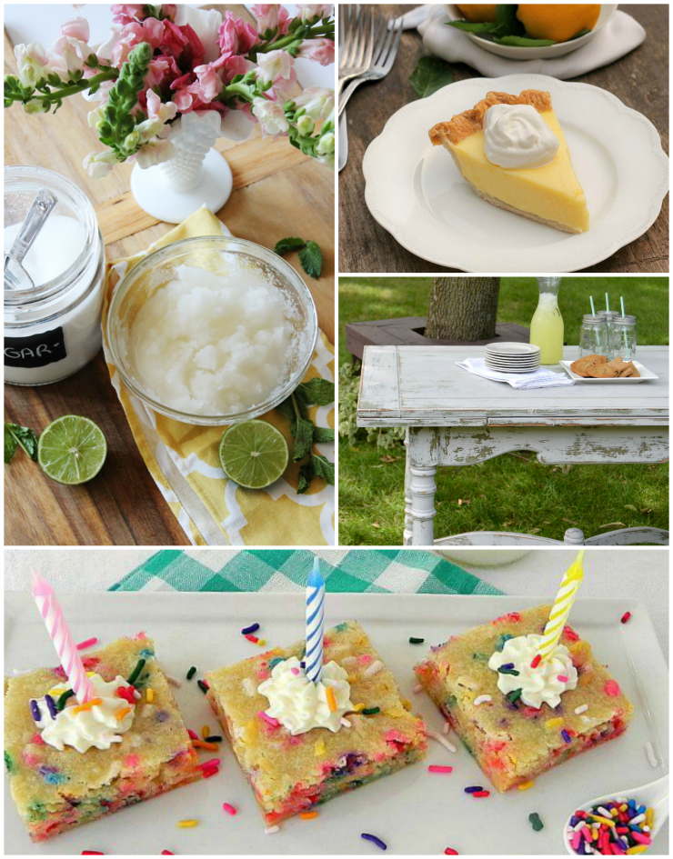 Great recipe and DIY ideas for summer from the SITS Girls link up.