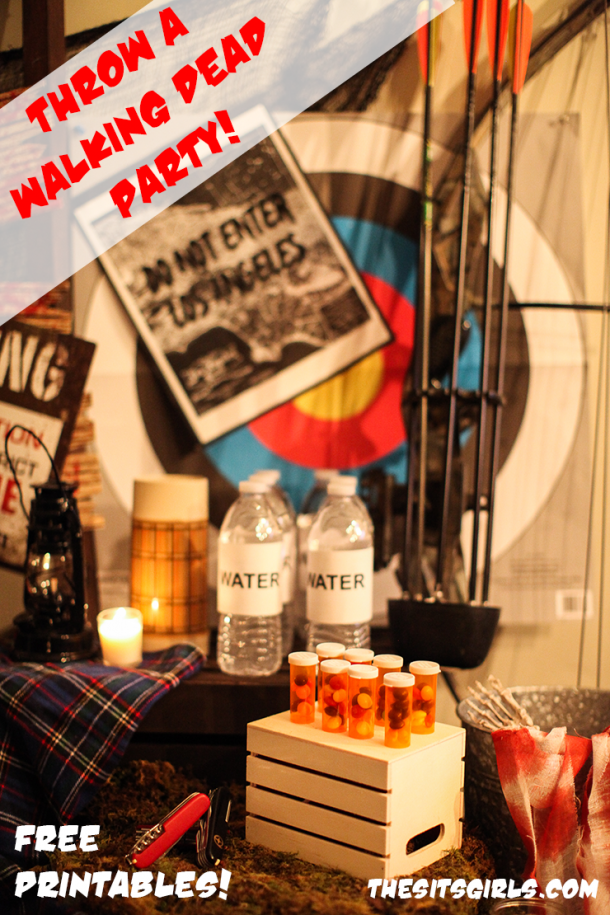 Throw the perfect Fear The Walking Dead viewing party for all your zombie-loving friends! Click for great ideas and free printables.
