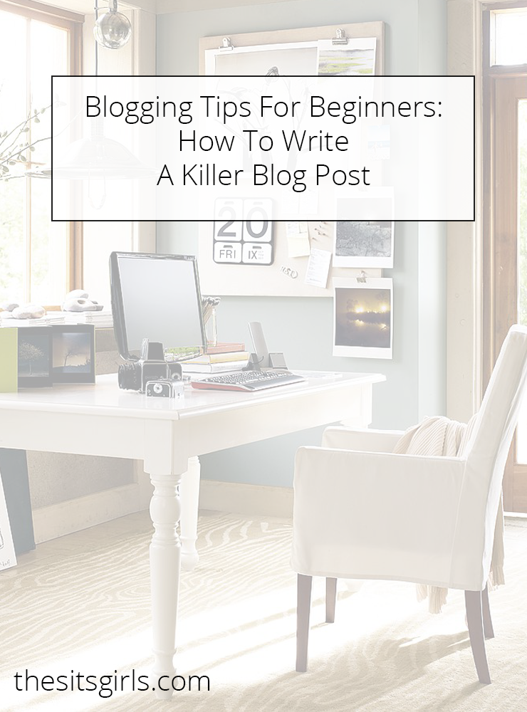 how to write a blog youtube