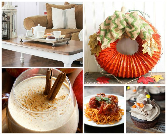 These delicious recipes and amazing crafts are perfect for any Fall crafter!