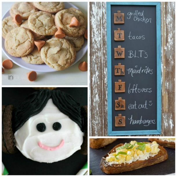 These awesome DIY and recipes will satisfy any homemakers needs. Ranging from baking to a cute menu board, the inspiration is endless!