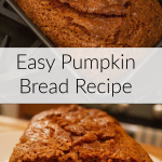 Easy pumpkin bread reacipe.