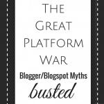 Blogging | The Great Platform War: Blogger Myths Busted