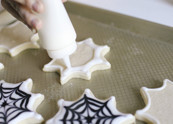 These are the most delicious Spiderweb Sugar Cookies around!