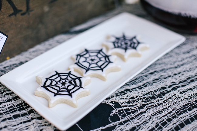 Check out this awesome tutorial to learn how to make these delicious Spiderweb cookies!