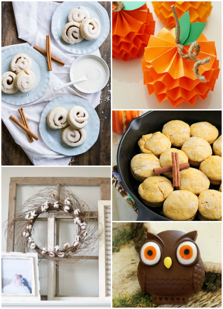Our favorite fall posts from the DIY and recipe link up at The SITS Girls.