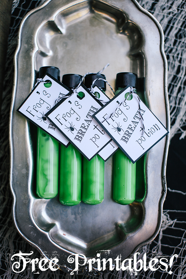 Free printables to make your haunted Halloween party extra spooky! Plus great Haloween decor ideas and DIY projects.