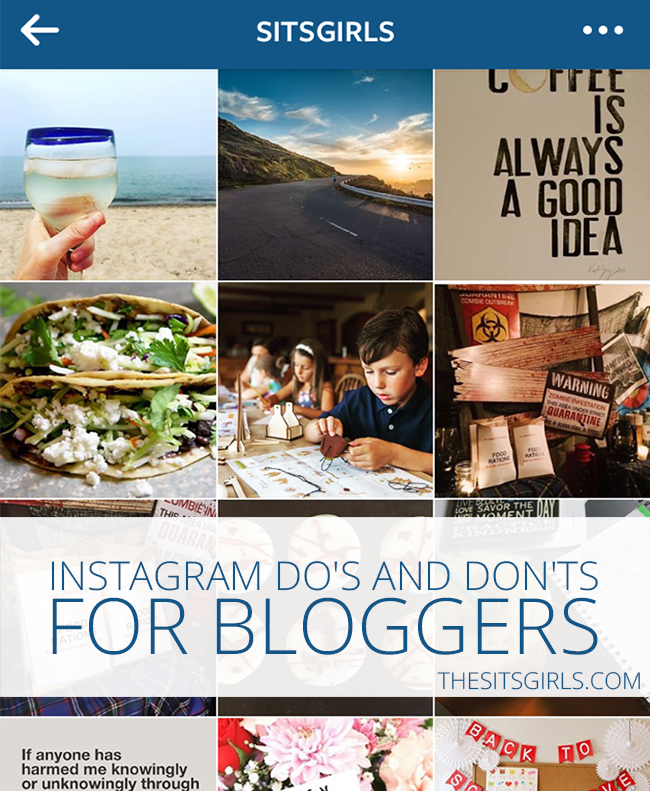 Social Media Tips | Get the full benefit of Instagram by following these do's and don'ts. Great Instagram tips - especially for bloggers!