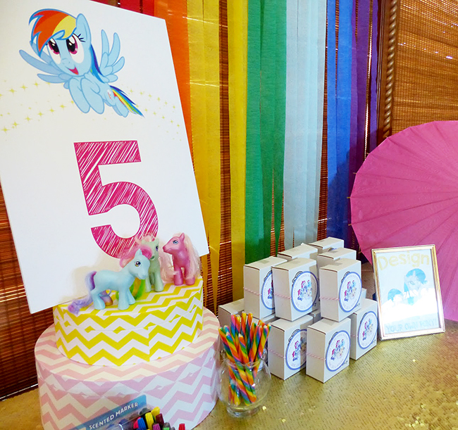 my little pony rainbow dash birthday party