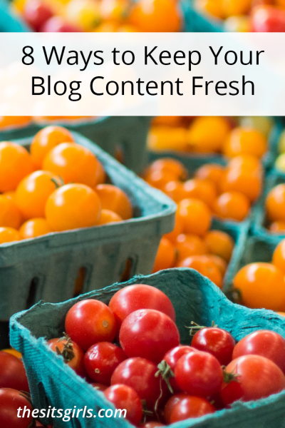 Blog Tips | Are you struggling to come up with things to write about on your blog? Use these 8 tips and writing prompt resources to keep your blog content fresh.